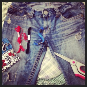 Holey jeans
